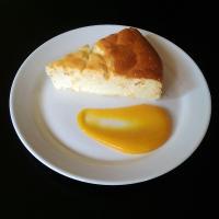 Ce mois ci votre diététicienne vous propose une recette de dessert léger: Le gateau au fromage blanc et zestes d'orange!